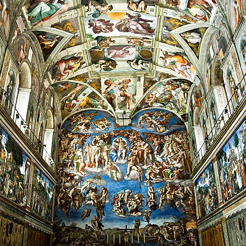 Painting the Sistine Chapel