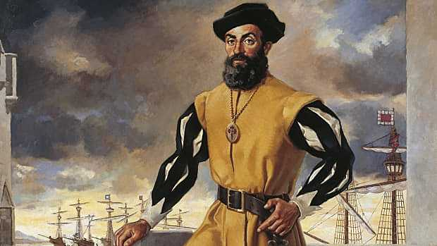 Magellan Discovers First Western Route to Asia
