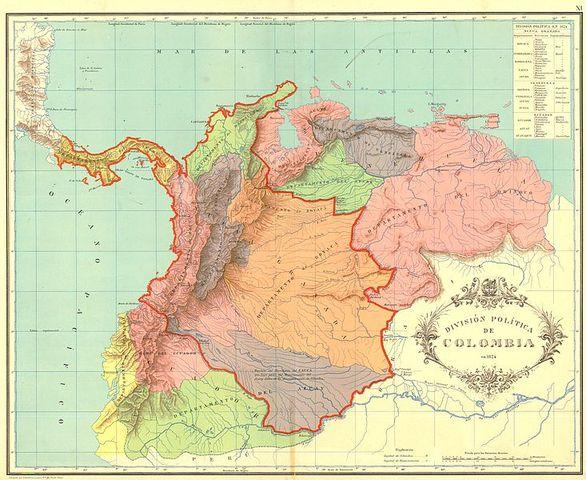 Se proclama la Republica de Colombia