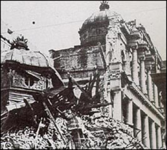 Germany occupies Greece and Yugolsavia