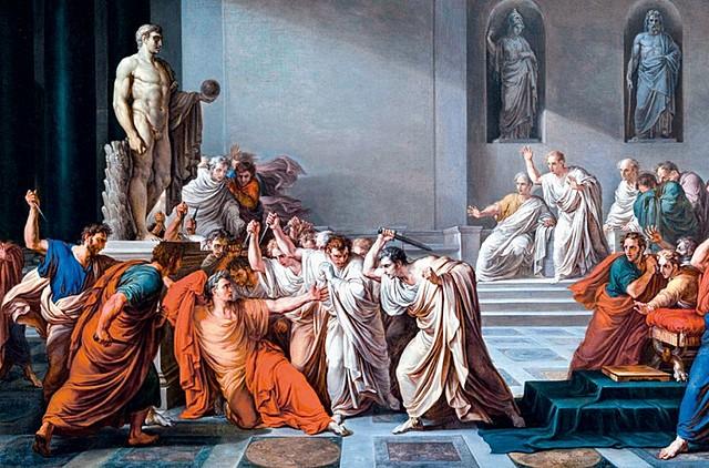 Assassinat de Cèsar.
