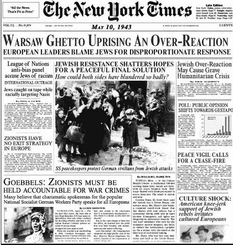 Warsaw ghetto revolt