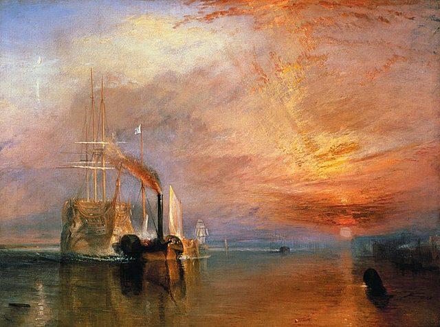 Turner- El temerari remolcat a dic sec