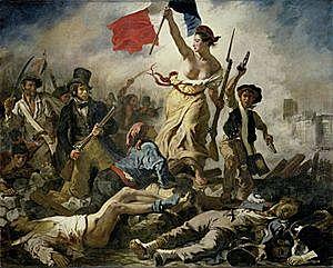 Delacroix- La llibertat guiant al poble