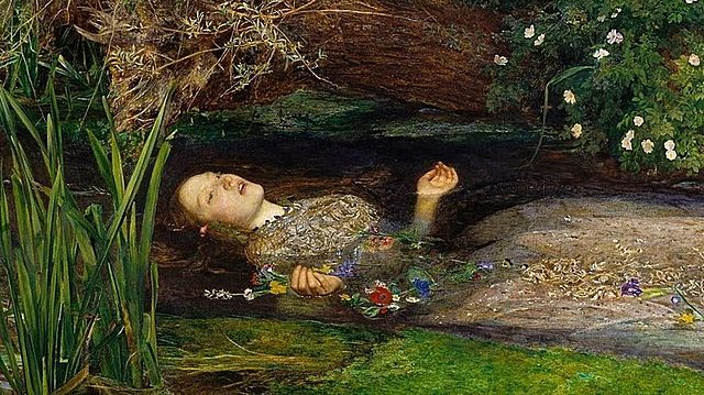 John Everett Millais-Elizabeth Siddal- Ofelia
