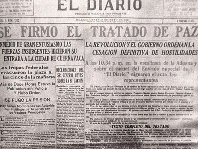Firma de tratados en Ciudad Juárez