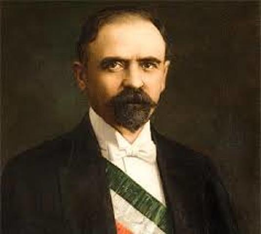 Madero asume la presidencia
