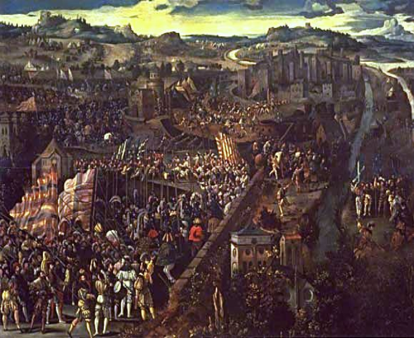 Spain Conquers Naples