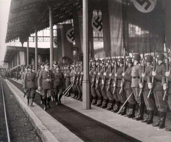 Germany occupies Hungary
