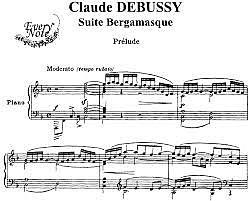 CLAUDE DEBUSSY - Suite bergamasque