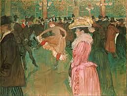 TOULOUSSE LAUTREC - At the Moulin Rouge