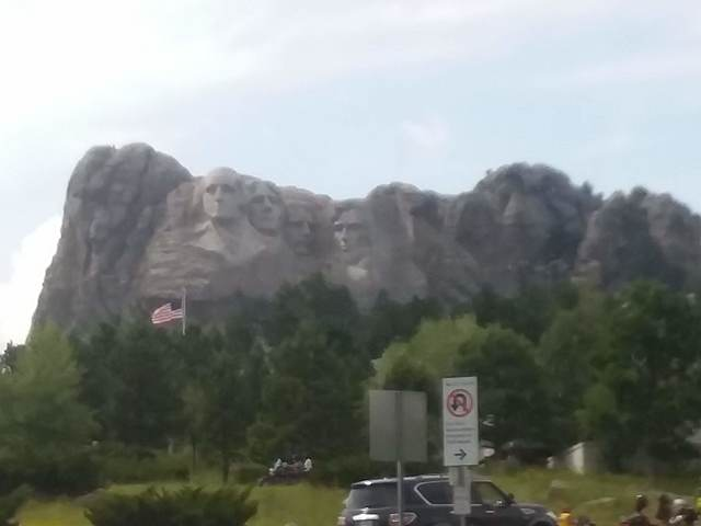 Visited mount Rushmore.