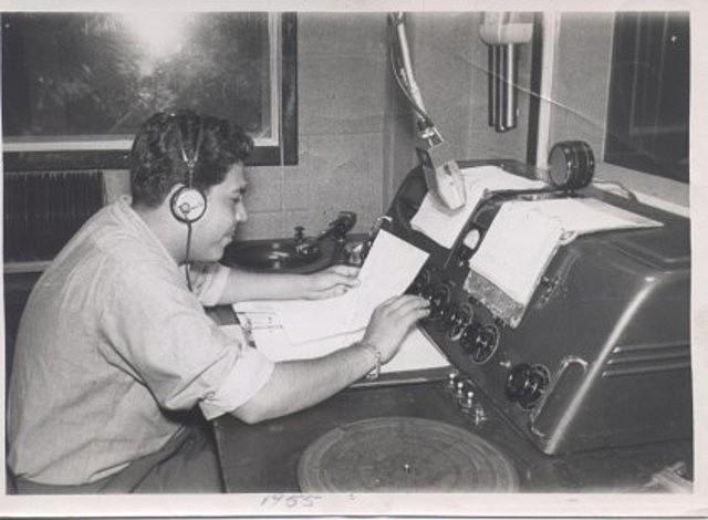 Primer programa de radio