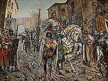 CONQUER OF VALENCIA BY JAIME I OF ARAGON