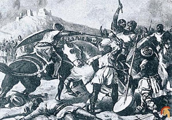 DEFEAT OF PEDRO II DE ARAGON IN THE BATTLE OF MURET