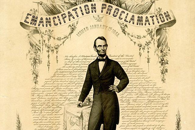 Emancipation Proclamation.