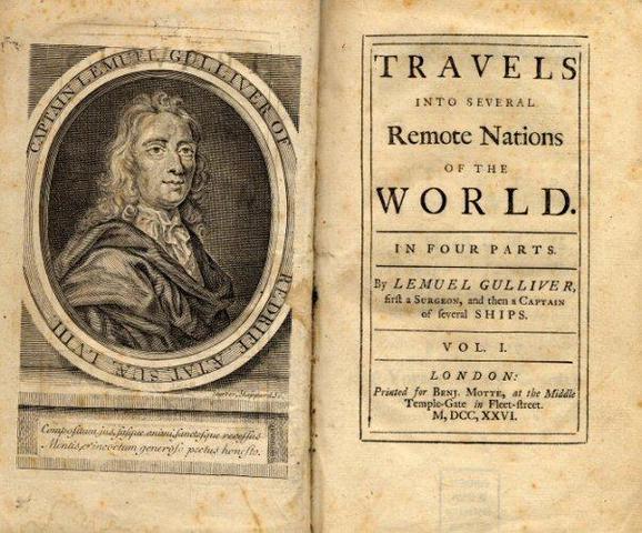 Els viatges de Gulliver – Jonathan Swift
