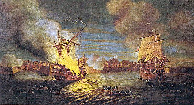 British Conquer Louisbourg