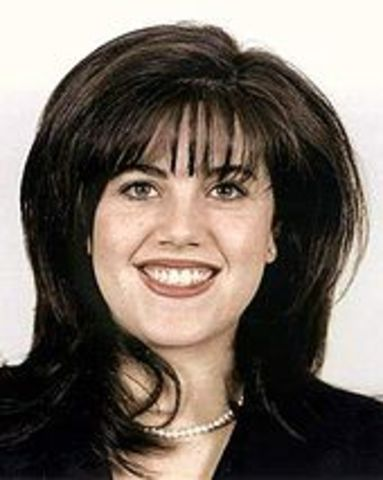 """President Bill Clinton denies he had """"sexual relations"""" with former White House  intern Monica Lewinsky."""