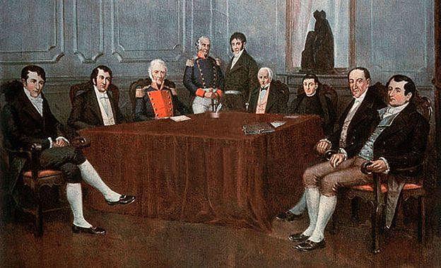 Revolución de mayo y creación de la primera junta