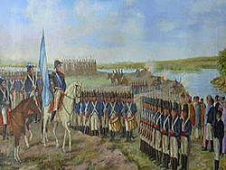 Manuel Belgrano crea la bandera nacional