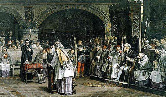 Protestantiska kyrkan kommer till Sverige