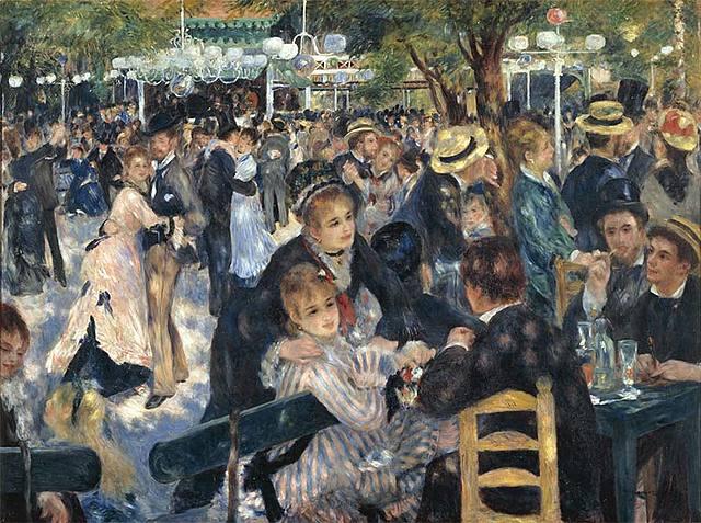 Renoir(1841-1919)-Bal du Moulin de la Galette