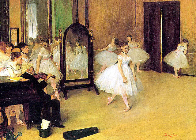 Degas(1834-1917)-Classe de dansa