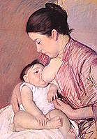 Mary Cassatt (1844-1926)- Maternitat