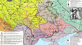 Українські землі наприкінці 50-х років XVII - на початку XVIII століття timeline