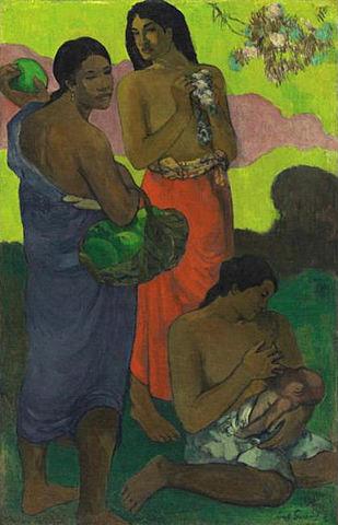 Paul Gauguin(1848-1903)- Maternité II (Maternitat II)