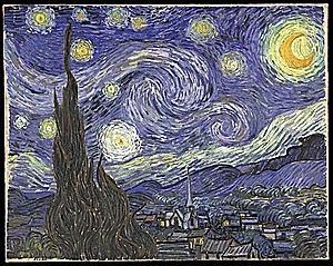 Vincent Vam Gogh(1853-1890)- La nit estelada