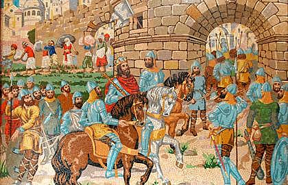 Jaime I of Aragon conquers Valencia