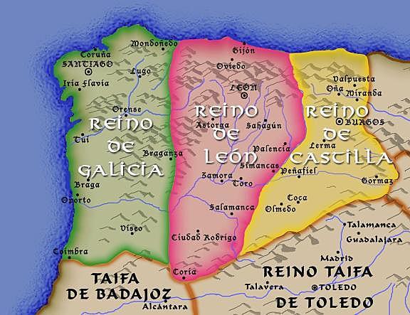 THE KINGDOM OF CASTILLA ANNEXES THE KINGDOM OF LION
