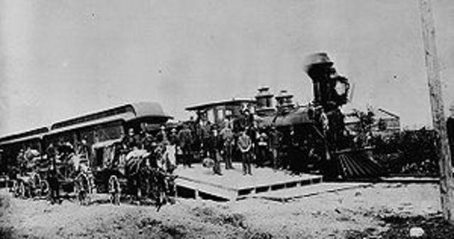 Canada's first train