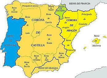 Union of the kingdom of Aragon and the Catalan counties. The crown of Aragon formed