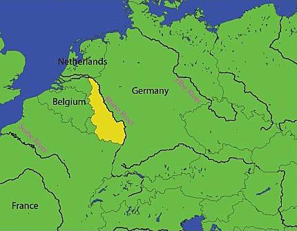 La militarització de Renània
