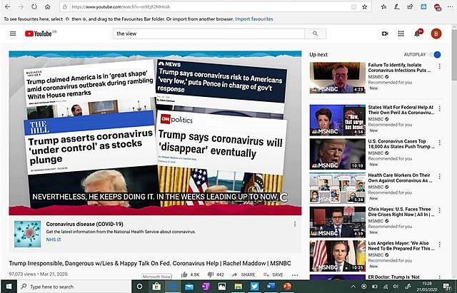#2.  Rachel Maddow - MSNBC (Recommendation No. 2)