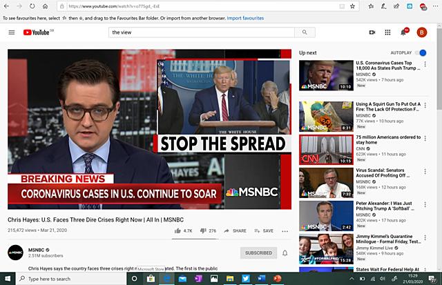 #3.  Chris Hayes - MSNBC (Recommendation No. 3)