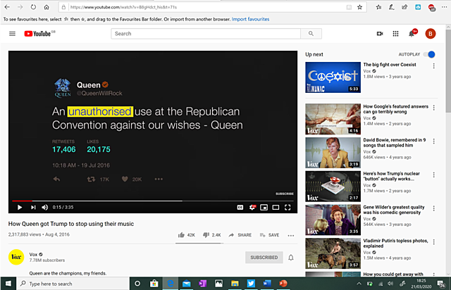#12. How Queen got Trump to stop using their music (Recommendation 4)