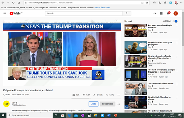 #13. Kelly Anne Conway's Interview Tricks (Recommendation No. 6)