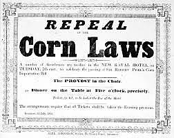 Great Britain: Repeal of Corn Laws