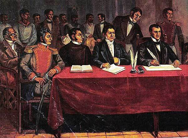 Proclamación de la Independencia de México 1821 - 1822