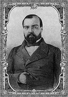 Ignacio Comonfort es elegido presidente interino de la República 1855 - 1857