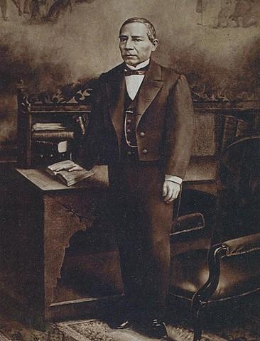 Benito Júarez es nombrado presidente de la República 1858 - 1872