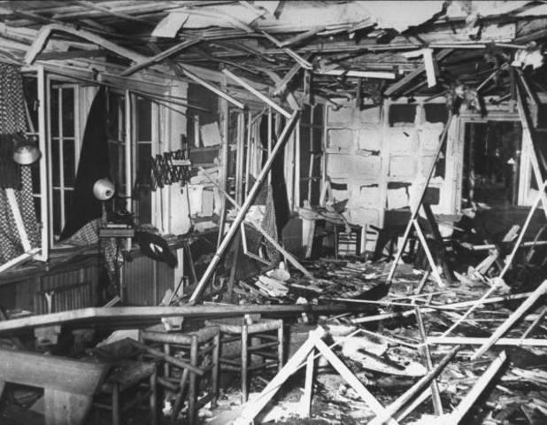 Assasination attempt on Hitler