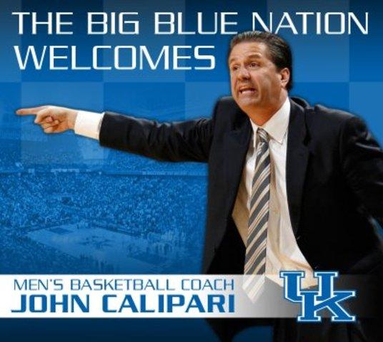 John Calipari is hired at Kentucky
