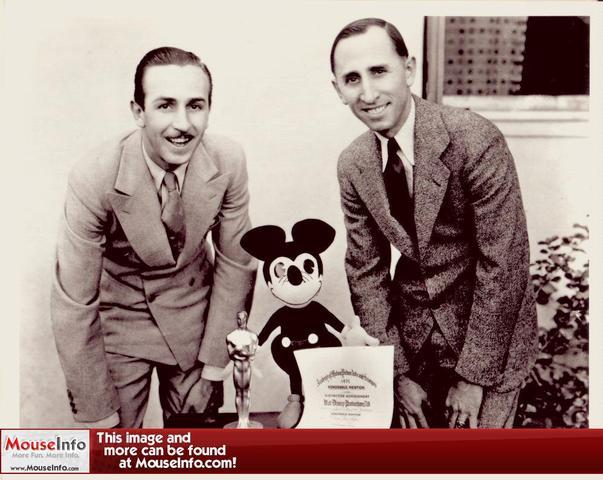 Walt Disney moves to Califorina