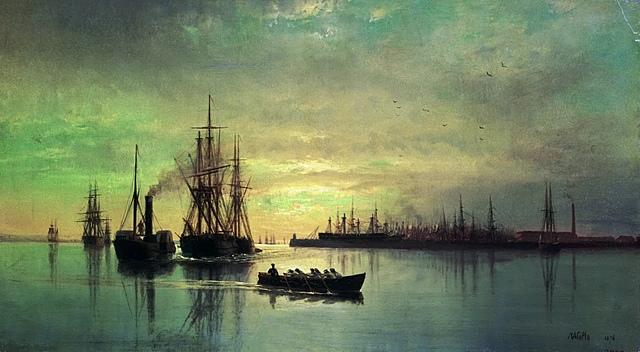 Отплытие из Кронштадта