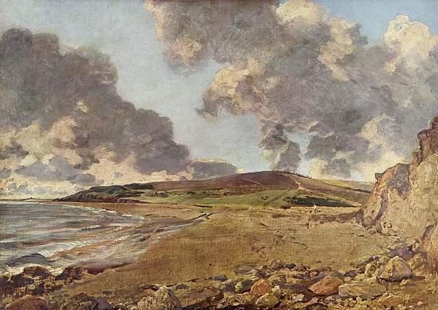 John Constable: Bahia de Weymouth